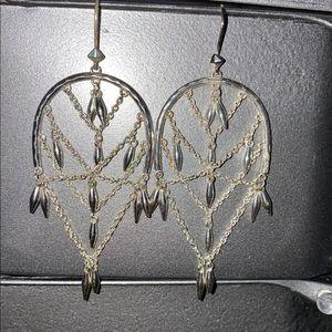 Stella & Dot Helai Chandelier Earrings
